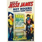 Days Of Jesse James Left: Roy Rogers 1939 Movie Poster Masterprint (24 x 36)