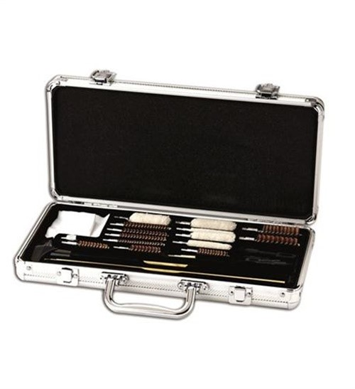 HOPPES UNIVERSAL ACCESSORY CLEANING KIT 26 PIECE W/STAINLESS CASE