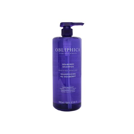 Obliphica Professional Seaberry Shampoo Medium to Coarse 33.8 oz (Fresh Cosmetics Seaberry)