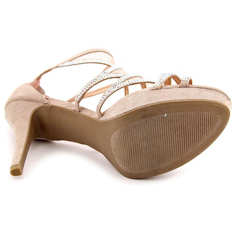 Material Girl Women's Halley Platform Sandal (7.5 B(M) US, Blush)