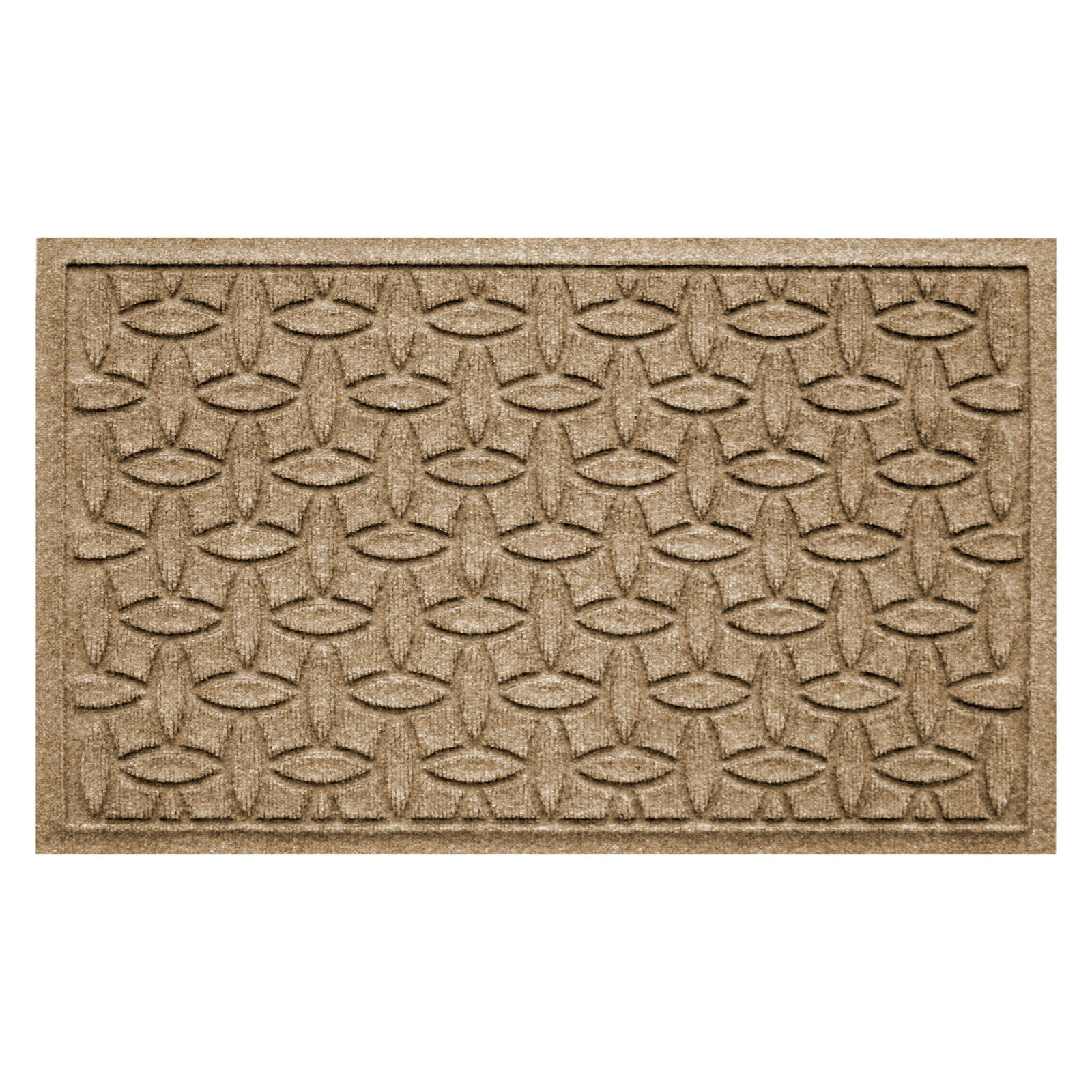 Bungalow Flooring Water Guard Elipse Indoor   Outdoor Doormat by