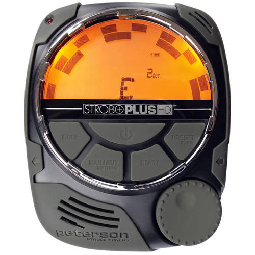 Peterson SP-1 StroboPlus HD - Handheld Strobe Tuner with Optional Metronome Function