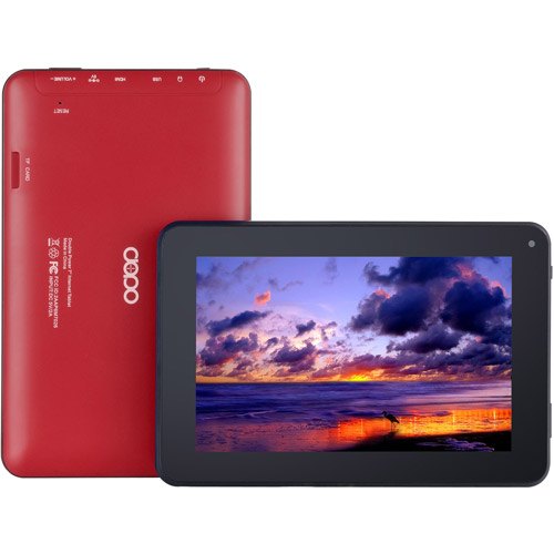 "Refurbished Double Power 7"" Tablet 8GB Memory Dual Core & Bonus Kit"