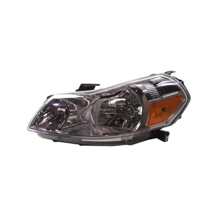 Overdrive Head (2007-2013 Suzuki SX4  Aftermarket Driver Side Front Head Lamp Lens and Housing 3532080J20)
