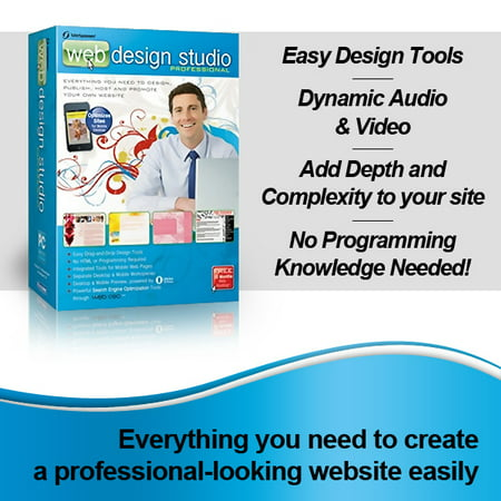 SiteSpinner Pro - Web Design Studio Professional Edition- XSDP -121085 - Web Design Studio Professional is everything you need to create a professional, quality website. Design, publish, host, an