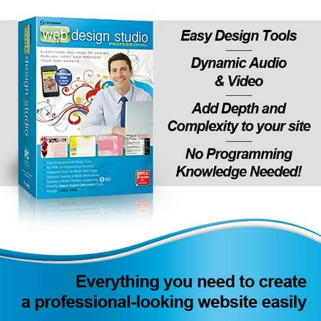 Broderbund 190525 SiteSpinner Pro - Web Design Studio Professional Edition ()
