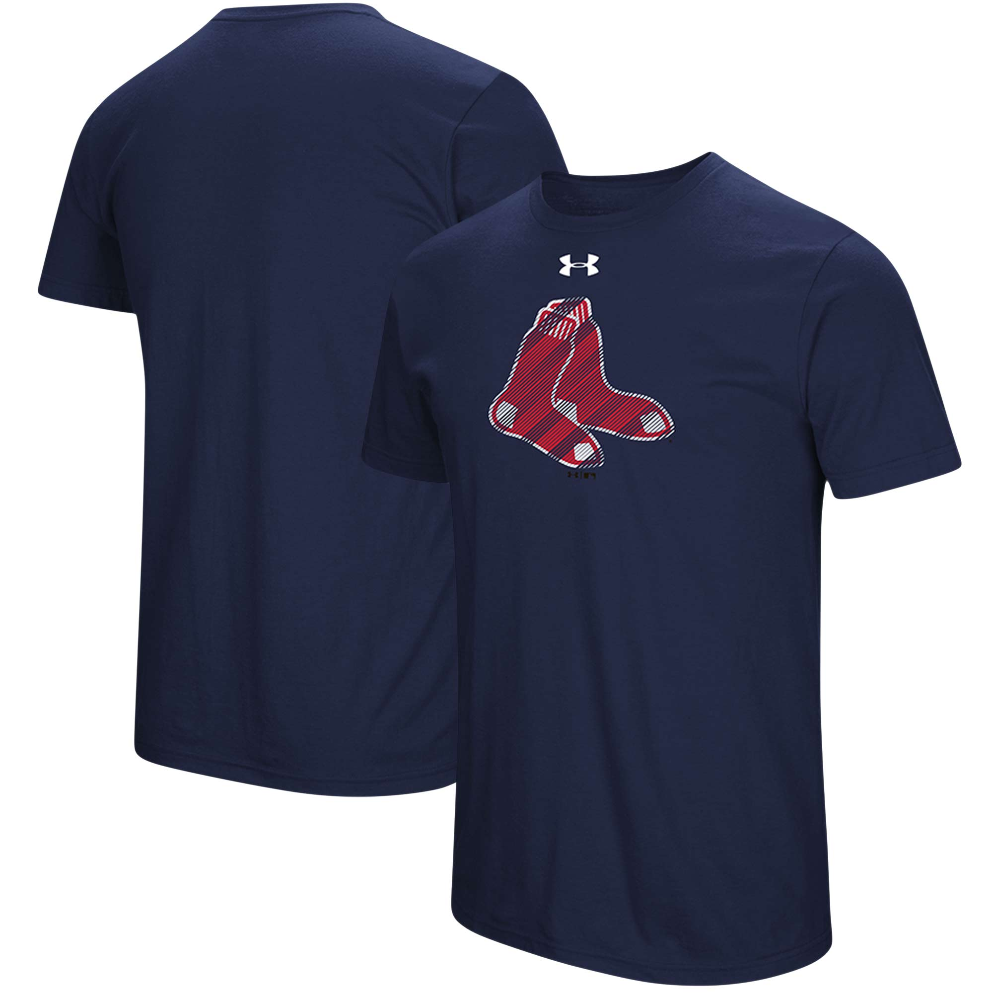 Boston Red Sox Under Armour Passion Alternate Logo T-Shirt - Navy