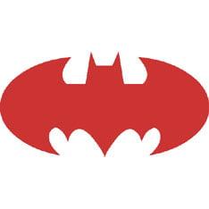 Reflective Stickers, Hard Hat Decals Bat Design