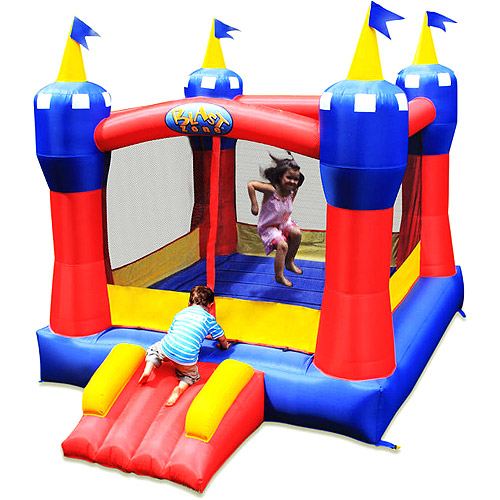 Blast Zone Magic Castle Inflatable Bounce House