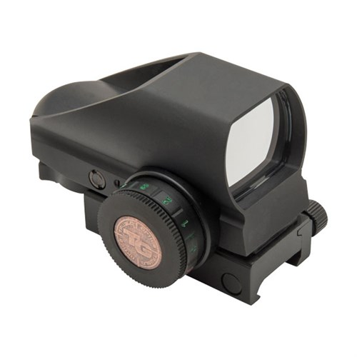 TRUGLO TRU-BRITE 1X 34MM OBJ UNLIMITED EYE RELIEF MULTI-RETICLE BLACK