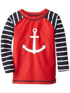 Hatley Little Boys' Nautical Anchor Rash Guard