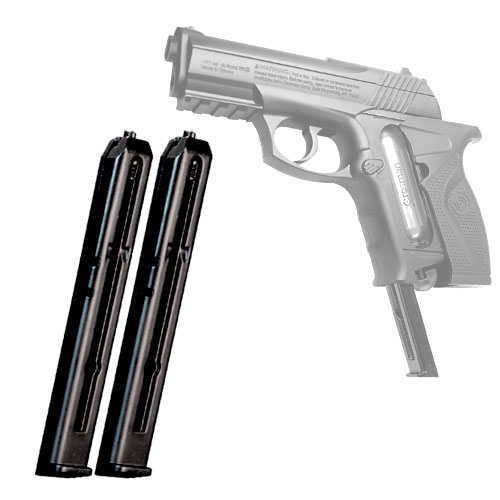 Crosman Airsoft Spare C11 BB Pistol Clip 2-pack models Air Mag C11, Z11 and USMC CP01 Airsoft pistols