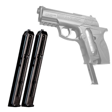 Crosman Airsoft Spare C11 BB Pistol Clip 2-pack models Air Mag C11,