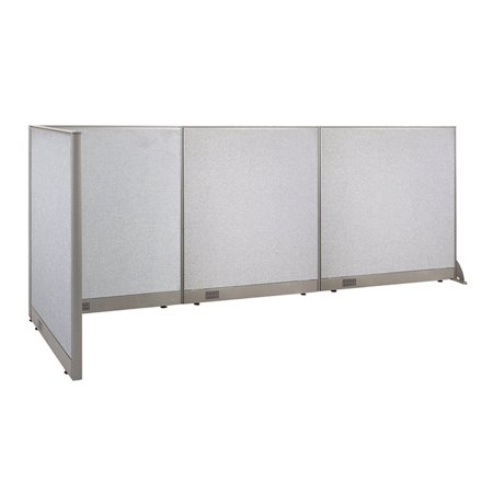 GOF L-Shaped Freestanding Office Panel Cubicle Wall Divider Partition 36D x 132W x 48H / Office, Room Divider