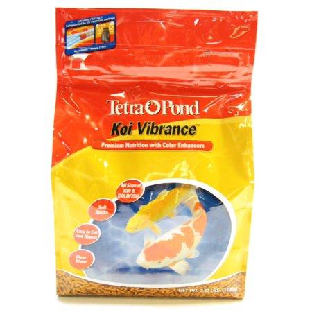TetraPond Koi Vibrance 2.42 Pounds, Soft Sticks, Floating Pond Food