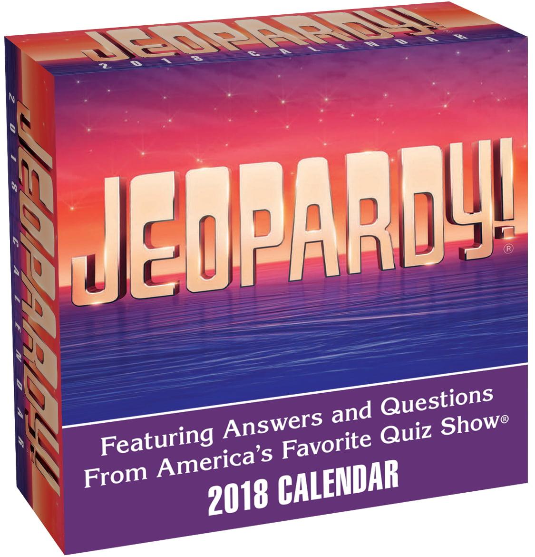 Andrews McMeel Publishing Jeopardy 2018 Box Calendar