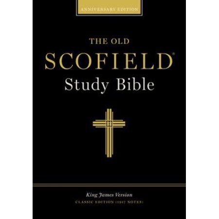 The Old Scofield Study Bible  King James Version  Navy  Bonded Leather  Classic Edition