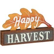 Happy Harvest Oak Table Décor