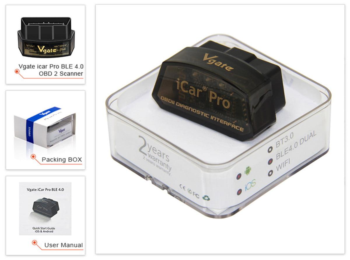 Vgate iCar Pro Wifi ELM327 V2 1 OBD2 Scanner Scan Tools OBDII Scanner  Diagnostic Tool Code Reader