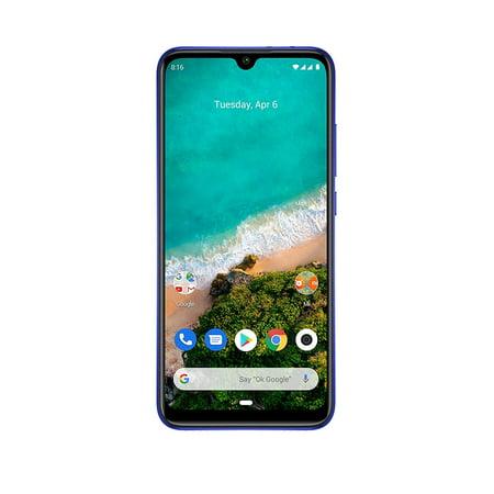 Xiaomi Mi A3 64GB + 4GB RAM, Triple Camera, 4G LTE Smartphone - International Global Version Includes A Free 232Tech Adapter, Not Just Blue