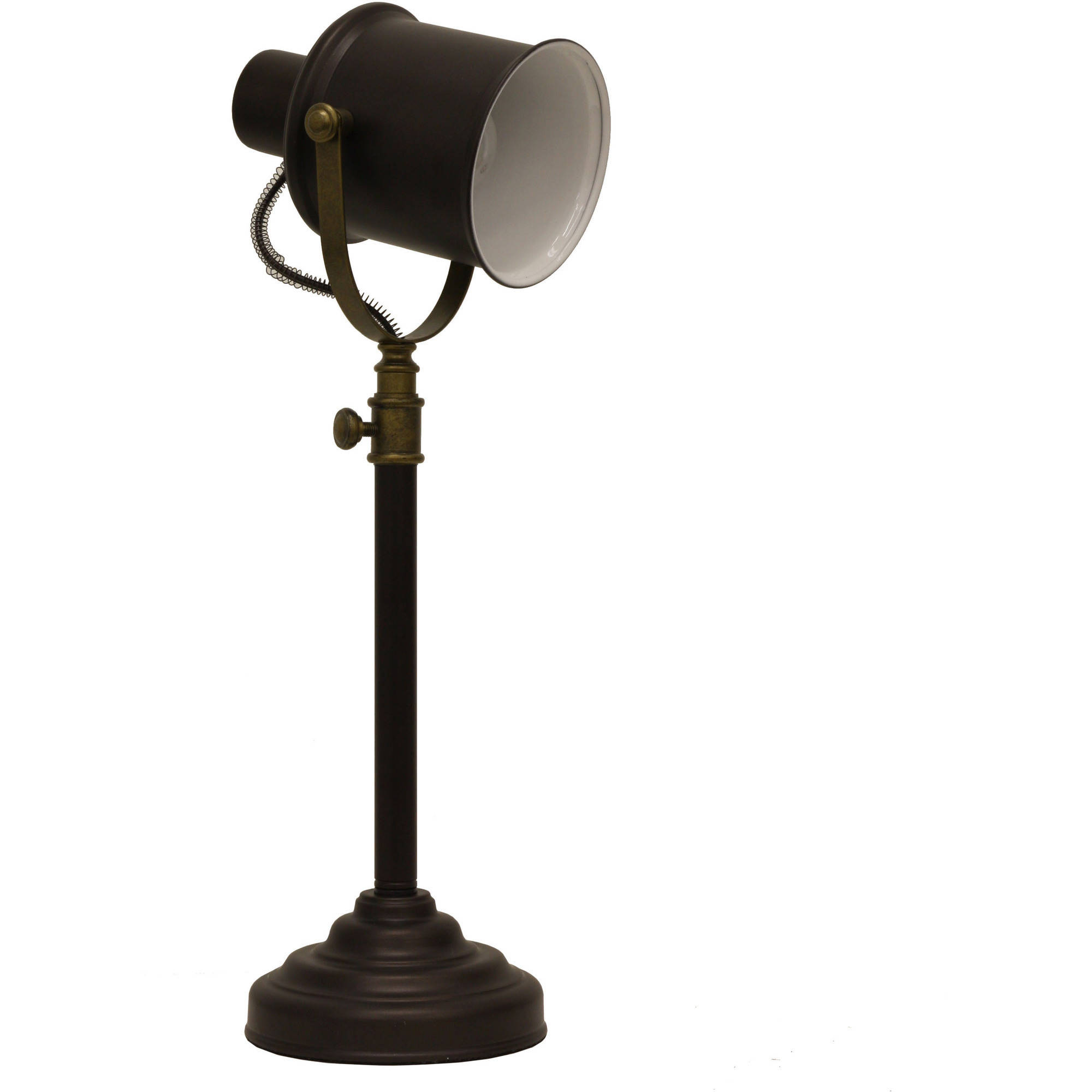 Better Homes and Gardens Two-Tone Spotlight Desk Lamp by JIMCO LAMP CO.