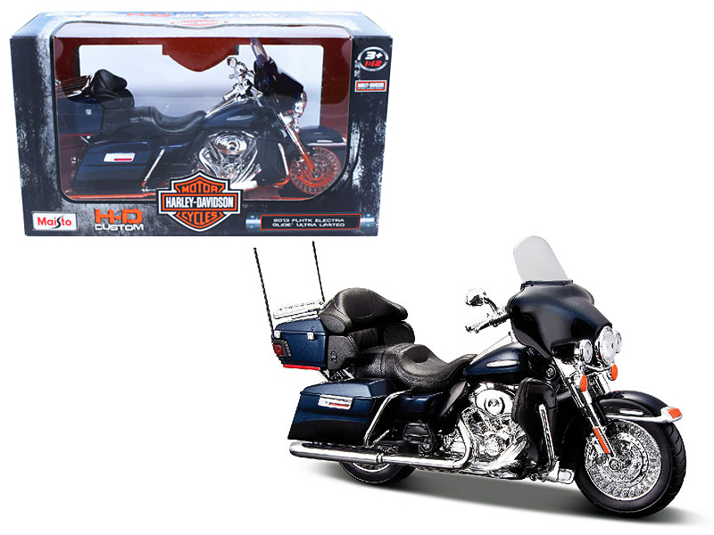 2013 Harley Davidson FLHTK Electra Glide Limited 1 12 Motorcycle Model by Maisto by