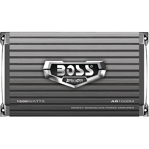 Boss Audio AR1500M Monoblock Mosfet Amplifier
