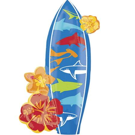 Surfboard Hawaiian Foil Balloon 39