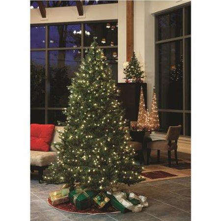 gki bethlehem 75 baby pine ready shape pre lit christmas tree 700 clear