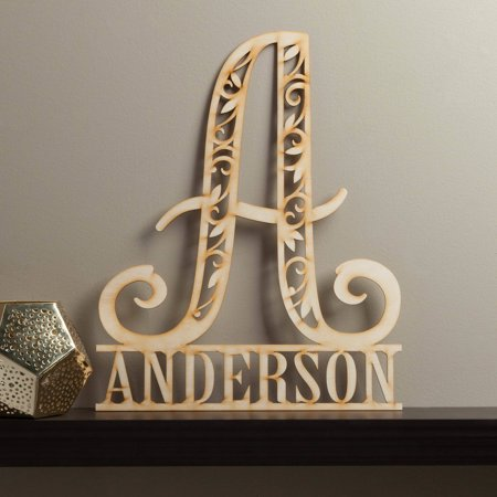 Boy Name Plaque (Family Name Personalized Wood Plaque )