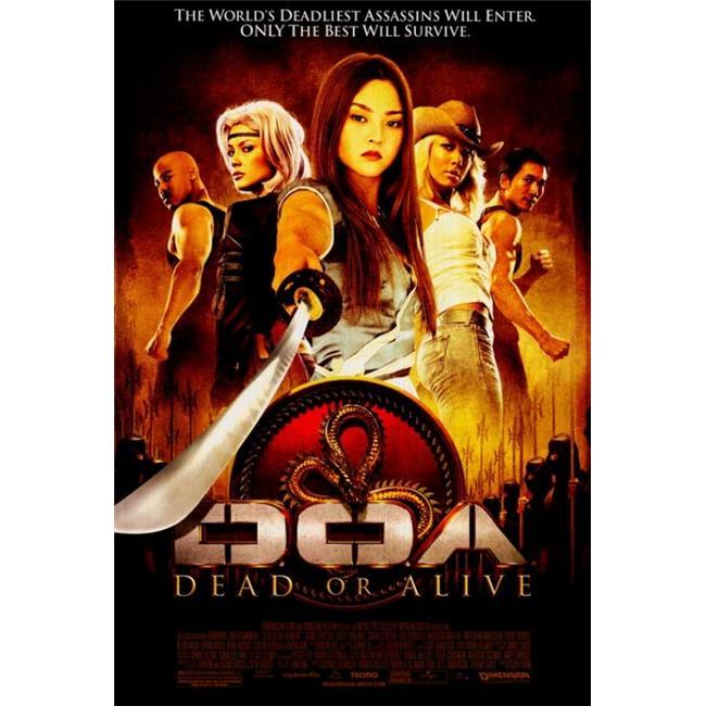 Pop Culture Graphics MOVAI5035 Doa - Dead Or Alive Movie Poster Print, 27 x 40 - image 1 de 1