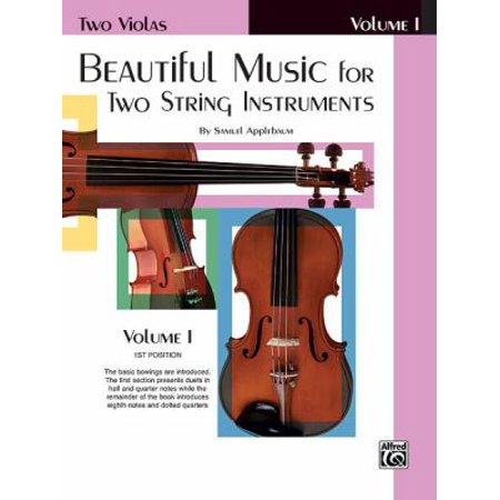 Beautiful Music for Two String Instruments, Book I 2 Violas