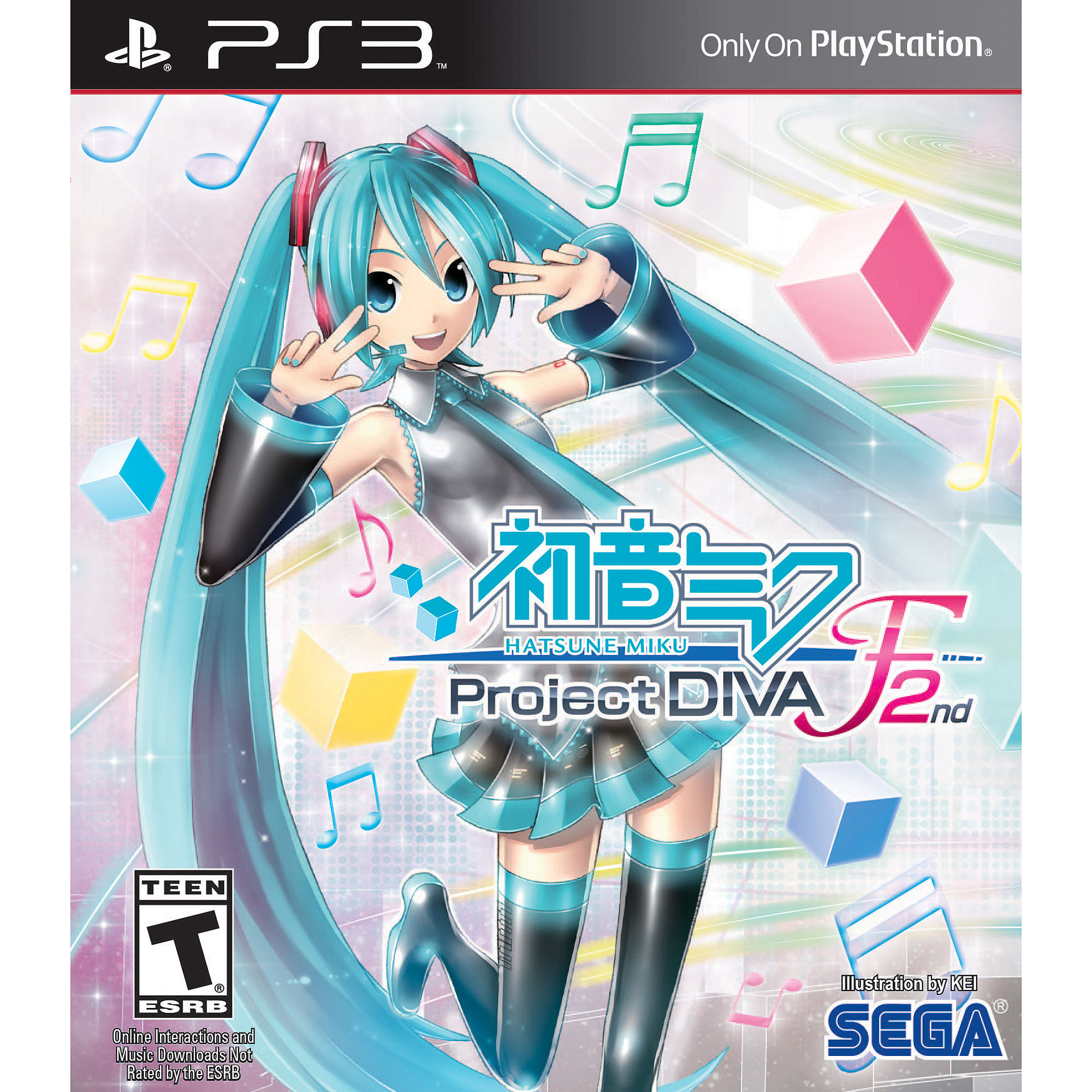 Hatsune Miku: Project Diva F 2nd (PS3)