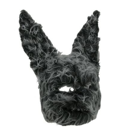 Hairy Scary Furry Evil Bunny Rabbit Mask - Hairy Feet