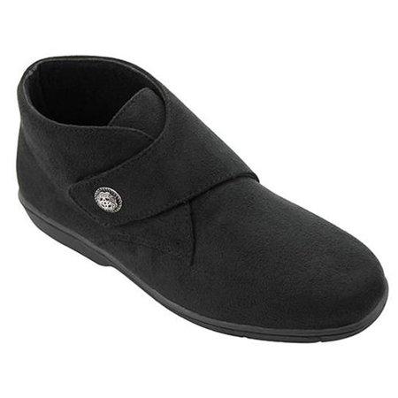 Womens Shoes Propet Size 11 M b Black Bootie Style Velcro Closure