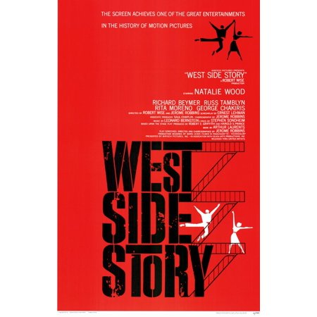 West Side Story (1961) 11x17 Movie Poster