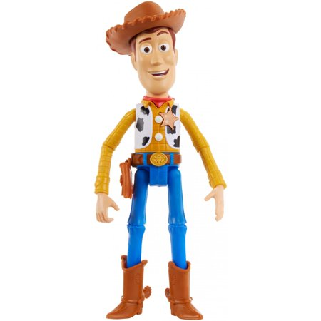 Disney Pixar Toy Story True Talkers Woody Figure with 15+ Phrases