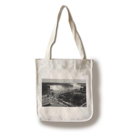 Ontario, Canada - Oakes Garden Theatre, Niagara Falls View (100% Cotton Tote Bag - Reusable)
