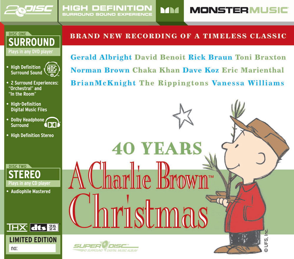 Monster Cable 40th Anniversary Charlie Brown Christmas CD - Walmart.com