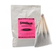 SMELLEZE Reusable Smoke Odor Eliminator Deodorizer Pouch: Rids Stench Without Cover-Ups in 300 Sq. Ft.