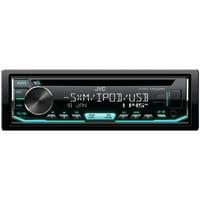 JVC Mobile KD-R690S KD-R690S Single-DIN In-Dash AM/FM CD Receiver with Bluetooth & SiriusXM Ready
