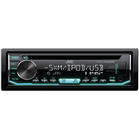 JVC Mobile KD-R690S KD-R690S Single-DIN In-Dash AM/FM CD Receiver with Bluetooth & SiriusXM Ready
