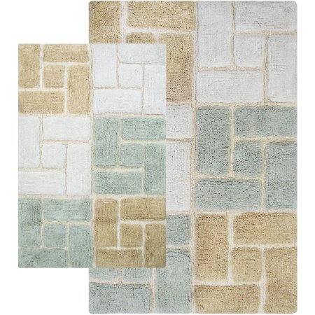 Berkeley 2 Piece Bathroom Rug Sets - Walmart.com