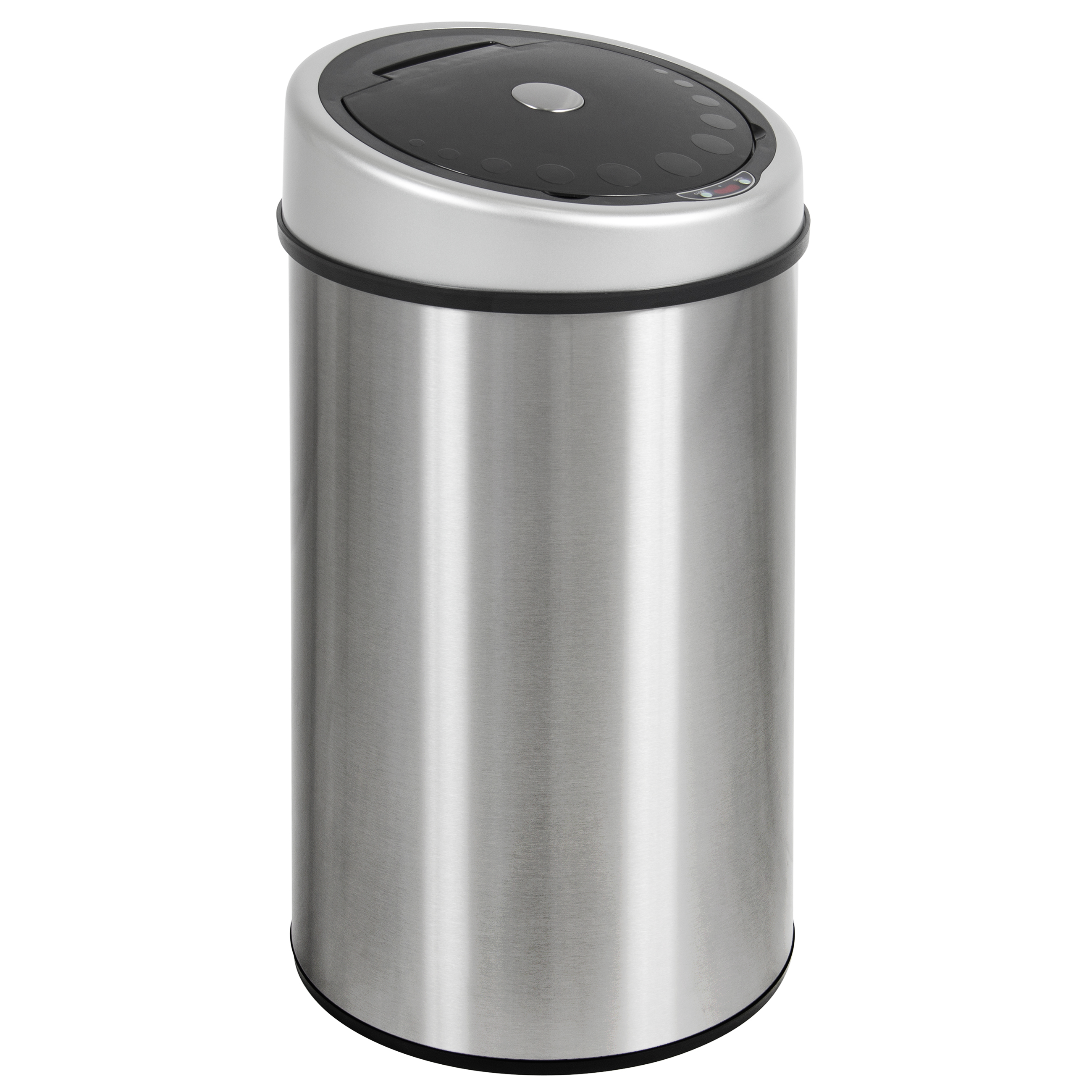 Click here to buy Automatic Touchless Trash Can Stainless Steel Infrared sensor dust bin 13.2 Gal.