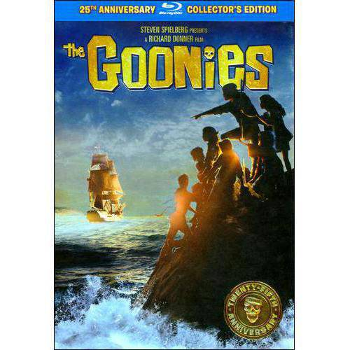 THE GOONIES [BLU-RAY] [25TH ANNIVERSARY COLLECTOR'S EDITION; WITH BOARD GAME/MAGAZI]