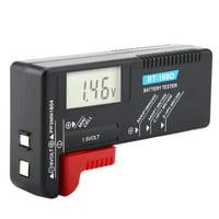 Fugacal Universal Digital LCD AA/AAA/C/D/9V/1.5V Button Cell Battery Volt Tester BT-168D , Battery Volt Tester, Battery Tester