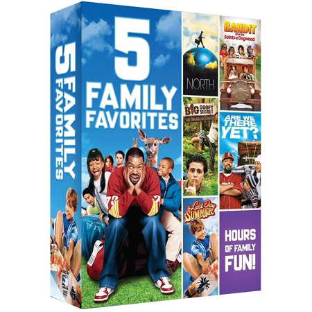 Family Favorites 5 Movie Bundle DVD