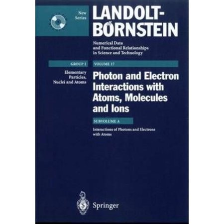 Photon And Electron Interactions With Atoms  Molecules And Ions