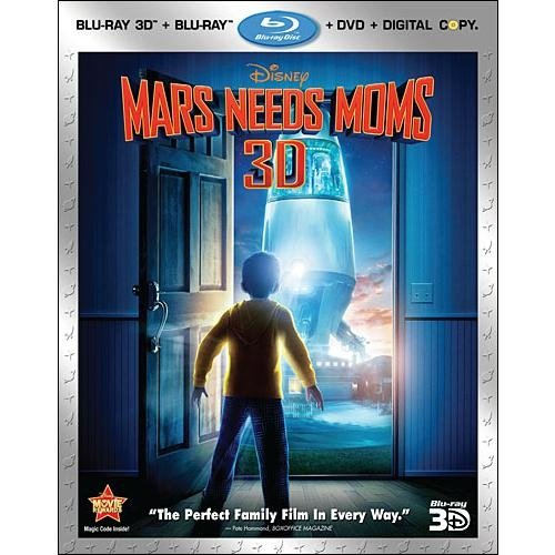 Mars Needs Moms (Blu-ray 3D   Blu-ray   DVD) (Widescreen)