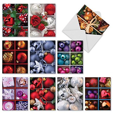 M1743xs christmas crates 10 assorted merry christmas greeting cards m1743xs christmas crates 10 assorted merry christmas greeting cards features boxes of ornaments with m4hsunfo